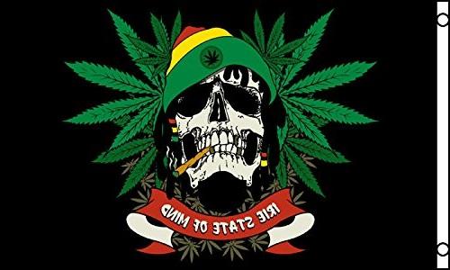 banderas de rastafari